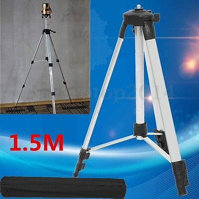 Universal Adjustable Alloy Tripod Stand Survey Contractor Laser Air Level Bag