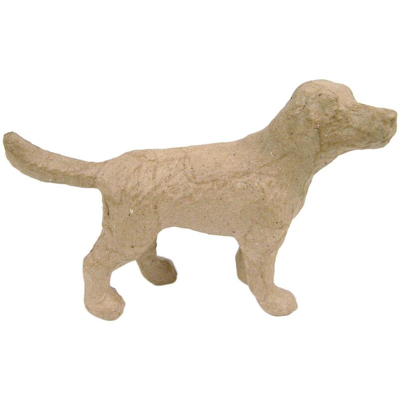 """Paper-Mache Figurine 4.5""""-Dog"""