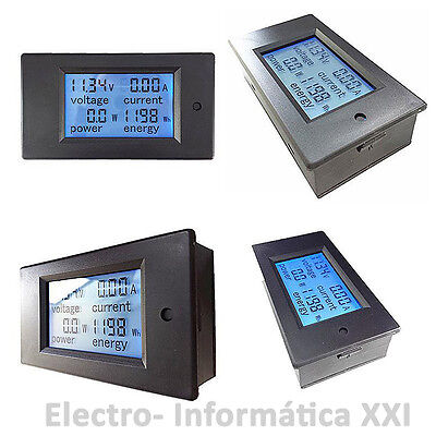 Contador de consumo electrico Medidor electricidad en cuadro electrico encastrar