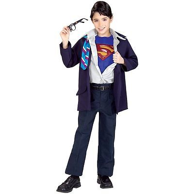 Clark Kent to Superman Muscle Chest Child's Costume, Large NEW