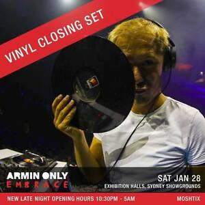 Armin Van Burren Only Embrace Sydney - Hardcopy Tickets Sydney City Inner Sydney Preview