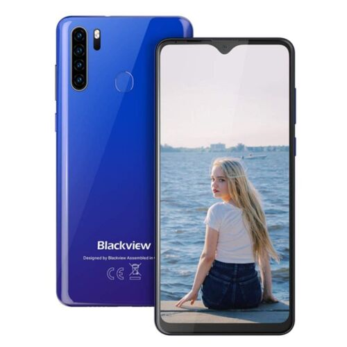 "6.49"" Blackview A80 Pro 4GB+64GB 4680mAh Handy Ohne Vertrag Smartphone 13MP Blau"