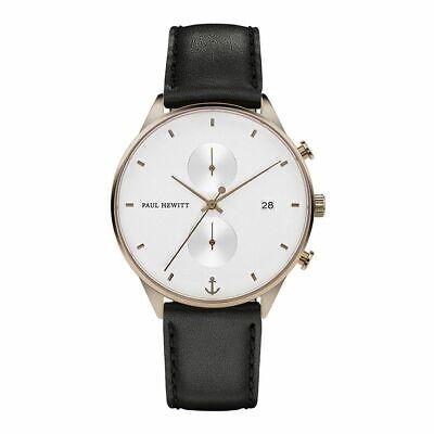 Paul Hewitt Reloj para Hombre Cuarzo Analógico Medianoche Océano PH002204 Cuero