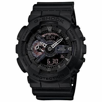 BRAND NEW Casio G-Shock GA110MB-1A Ana/Digi Black Resin Quartz Sport Men's Watch