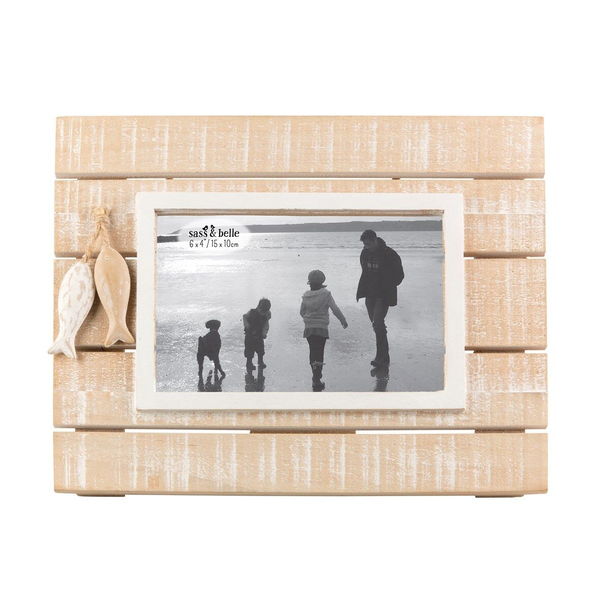 Boardwalk Sea Nautical Rustic Wooden Photo Picture Frames 6x4 Shabby ...