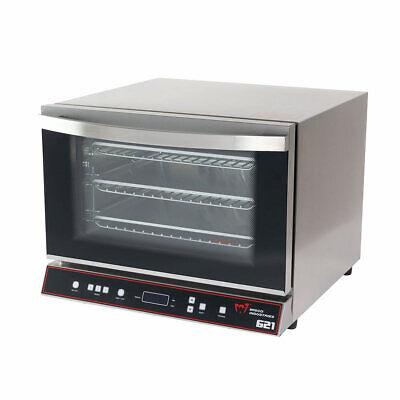 Wisco 621 Countertop Commercial Convection Oven 14 Sheet Digital