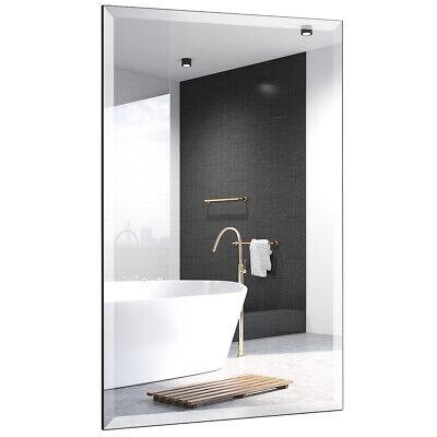 24''X36''Rectangle Mirror Wall Mounted Bathroom Beve