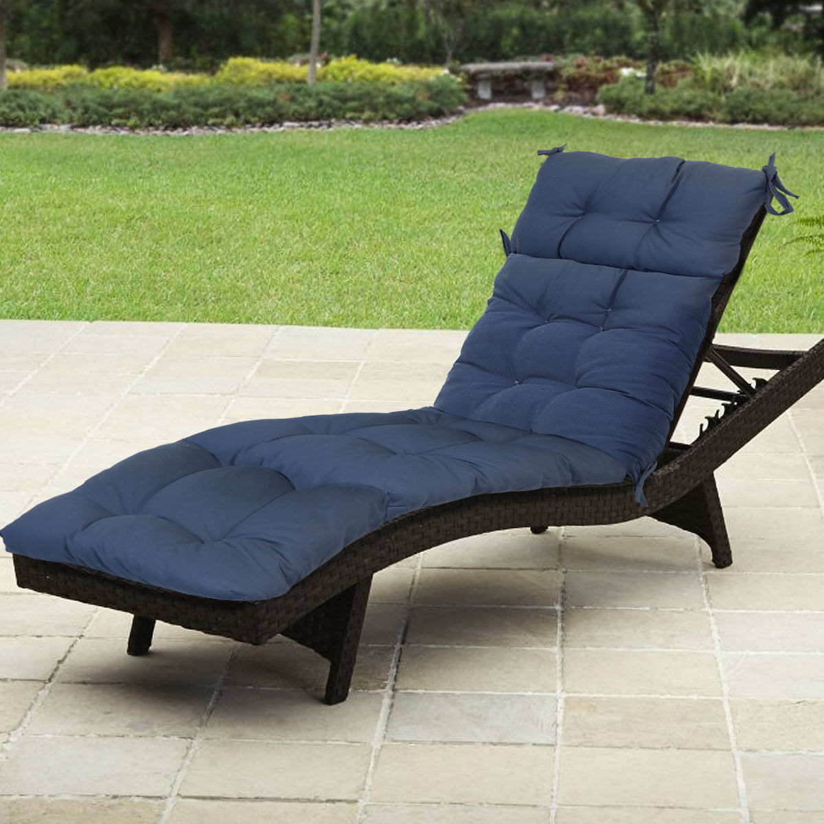 - Belvedere Outdoor Replacement Patio Chaise Lounge Cushion