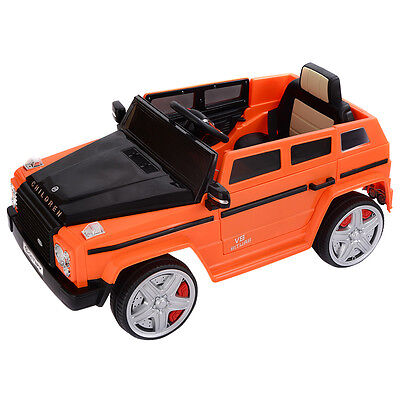 12V MP3 Kids Ride On Car Battery Powered Toy RC Remote Control w/ LED Lights
