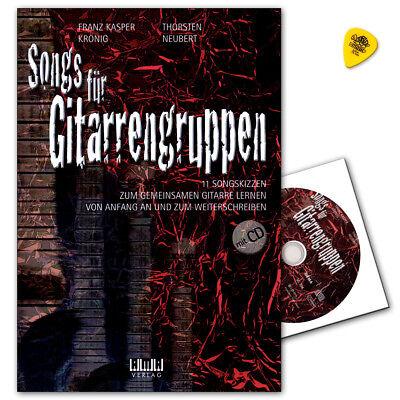 Songs für Gitarrengruppen mit CD - Ama Verlag - 610507 - 9783899222388