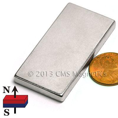 Strong N42 Neodymium Magnet Block 2 X 1 X 316 - Rare Earth Magnet 6 Pc