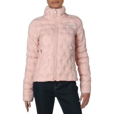 The North Face Womens Holladown Pink Down Cropped Jacket Coat XS BHFO 6370