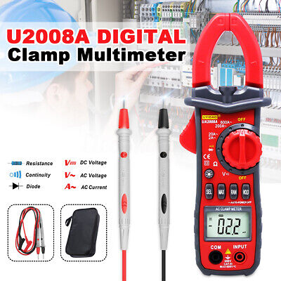 Ua2008a Uyigao Auto Digital Clamp Meter Multimeter Handheld Rms Acdc Resistance