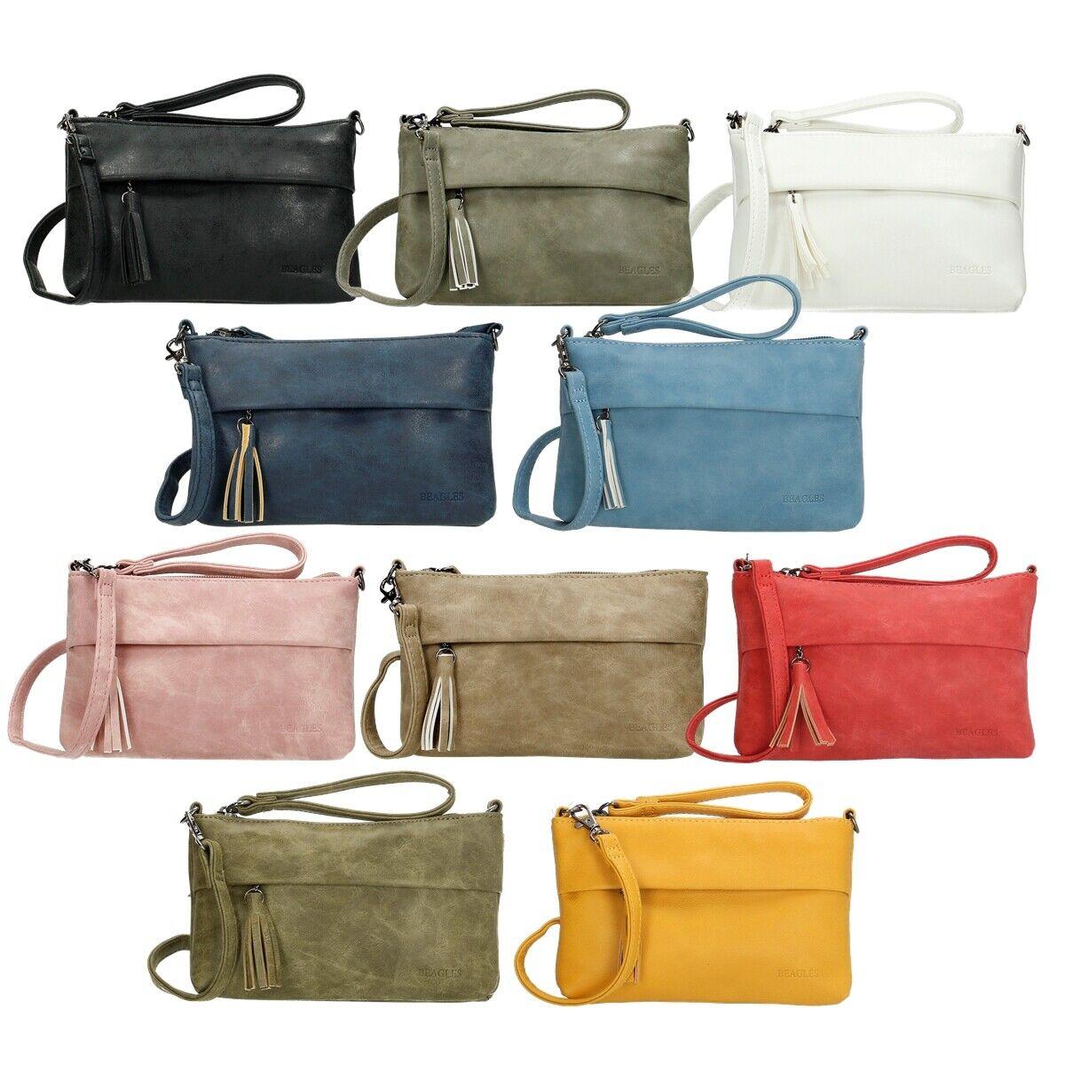 Beagles Mini Umhängetasche Ausgehtasche Handtasche klein Minibag Abendtasche