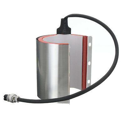 15oz Steel Mug Attachment For 110v 1000w Heat Press Machine Sublimation Printer