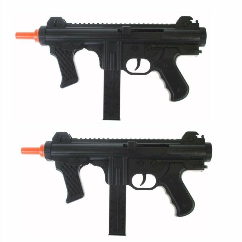QTY 2: Dark Ops Airsoft Spring Power P1238 Mini SMG Tactical Air Gun Pistol + BB