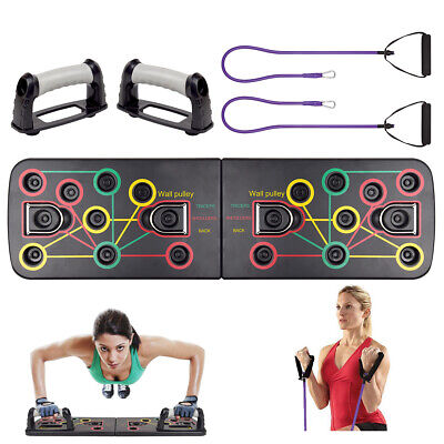 Push Up Board System, 13-in-1 Body Building Exercise Tools Workout Push-up Stand