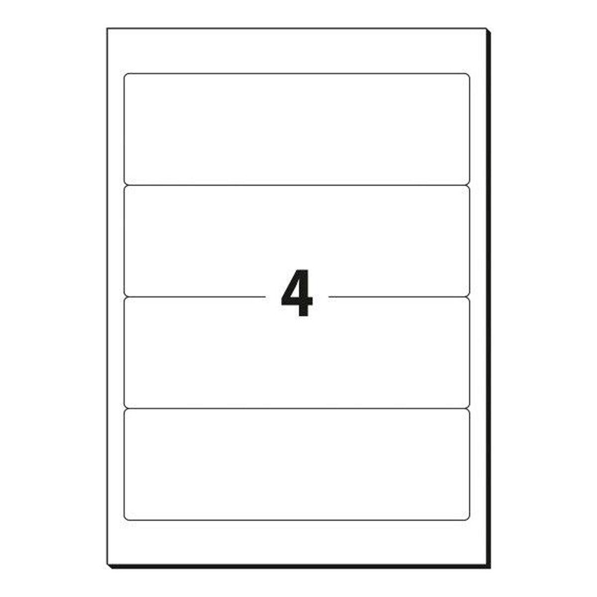 Ordneretiketten Ordnerrücken Rückenschilder Ordner Etiketten 190x62 mm Breit A4