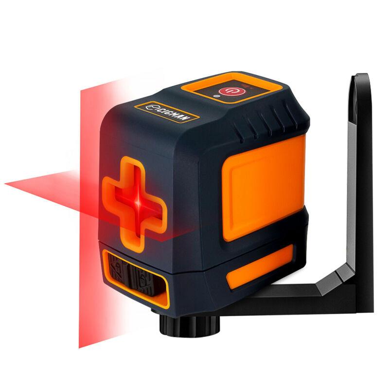 Indoor Red Beam Cross Line Laser Level Self Leveling Mode / Manual Mode cigman