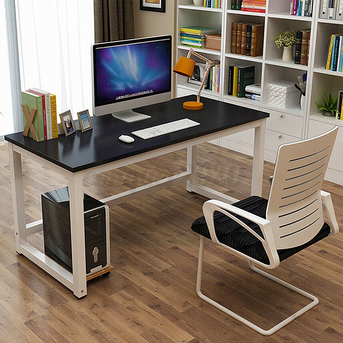 Computer Desk PC Gaming Laptop Table Study Workstation Home Office Furniture