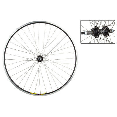 Weinman Zac19 Rear Wheel 700c Black MSW 36 Alloy Fw 5/6/7Sp Bo Black ()