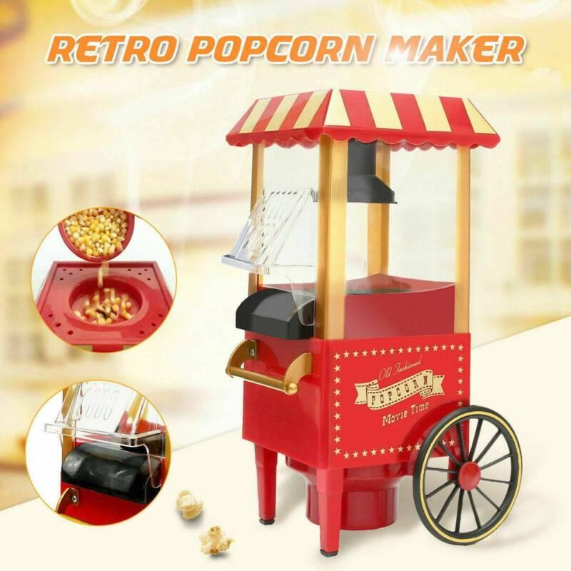 Popcorn Maker Electric Mini Machine Air Pop Corn Making Shap