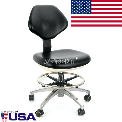 Dental Doctor Assistant Stool Adjustable Height Mobile Chair Usa