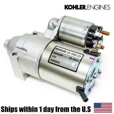 Genuine OEM Kohler Electric Starter 2509811 2509811S 2509808 2509809 25 098 11-S