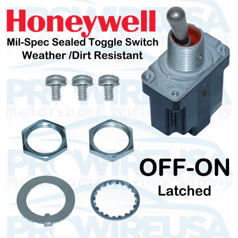 Honeywell Sealed MilSpec OFF-ON- Switch MS24523-22 1TL1-2
