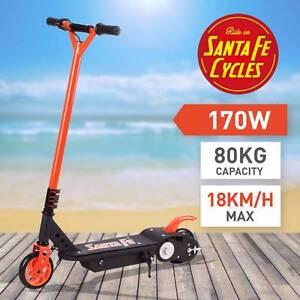 SANTA FE 170W ELECTRIC SCOOTER Orange Kids Ride On Toy Myocum Byron Area Preview