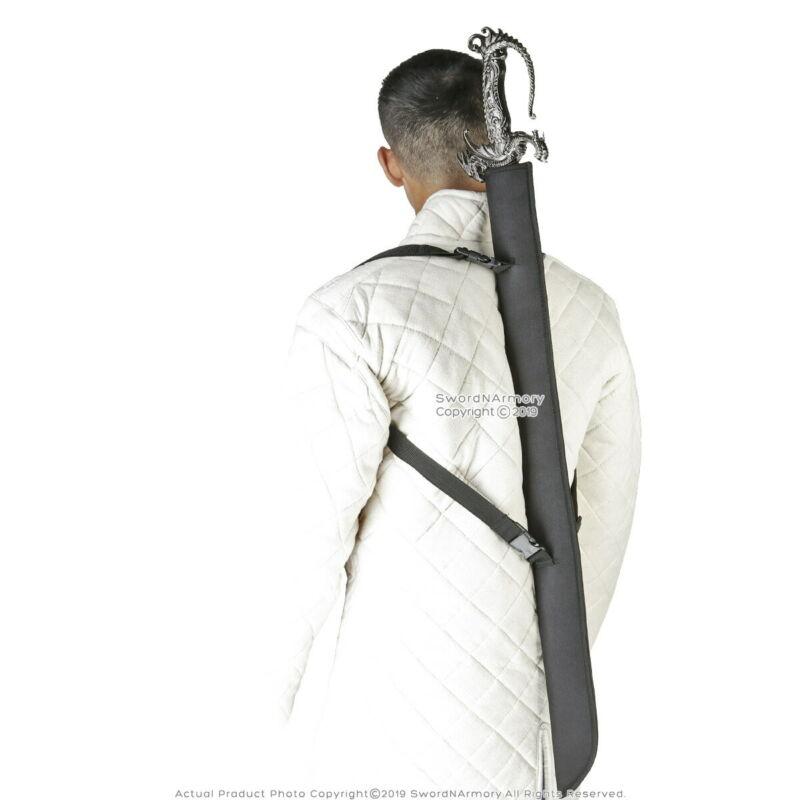 LARGE Sword Back Carrying Case Sheath for Katana Bokken Shinai Foam Blade