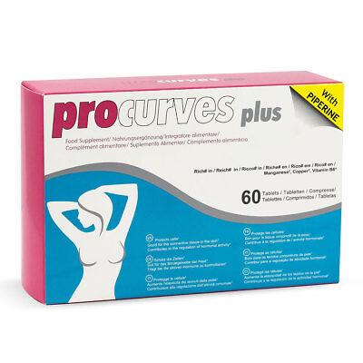 Procurves Plus 60 Pillen für mehr Brust Volumen natürliche