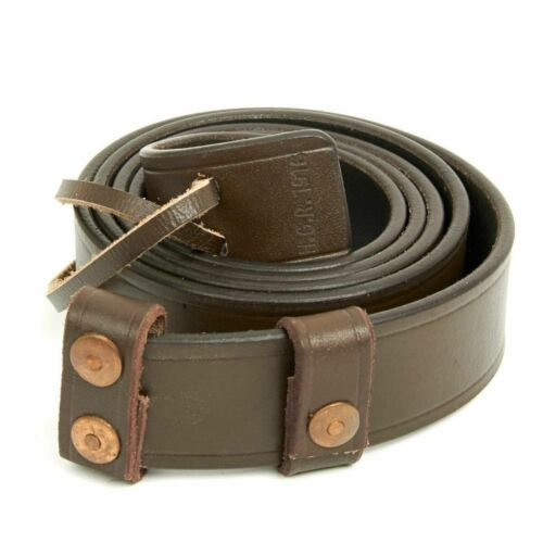 2020 British WWI & WWII SMLE Enfield Leather Rifle Sling- Dated, Manufacturer St
