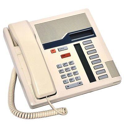 Refurbished Nortel Meridian Norstar M7208 Phone NT8B30 Ash / Beige - Norstar Meridian M7208