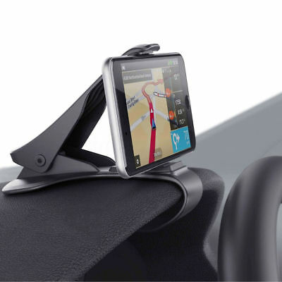Universal Clip On Car HUD GPS Dashboard Mount Cell Phone Holder Non-slip Stand - Gps Dashboard Holder