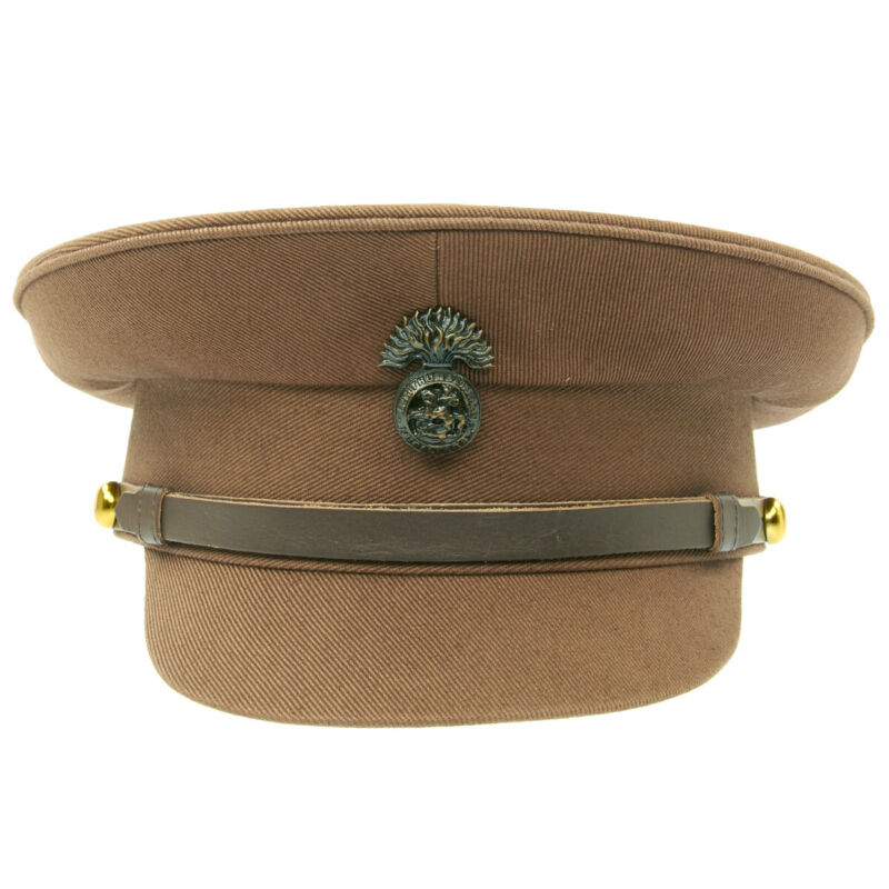 British WWI Officer Service Dress Peaked Cap- Size US 7 1/4 (58cm)