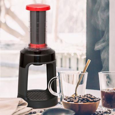 Portable Manual Coffee Brewer Mini Hand Press Single Serve K-Cup Coffee Maker