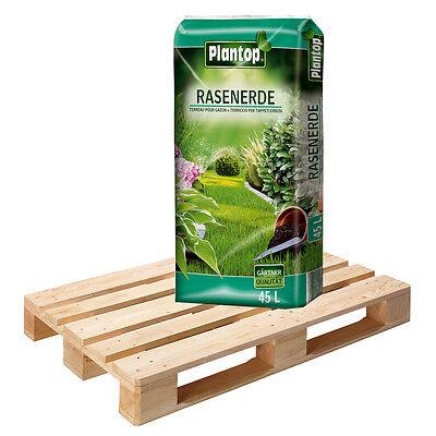 Rasenerde PLANTOP 45 Sack á 45L 2025 Liter Qualitäts-Rasensubstrat Rollrasenerde