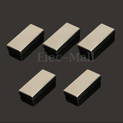 1 2 5 10PC Neodymium Block Magnet 50x25x10mm N52 Super Strong Rare Earth Magnets