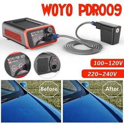 WOYO Heater Paintless Dent Repair Tool Kit Removal Puller PDR Hammer LED Tools