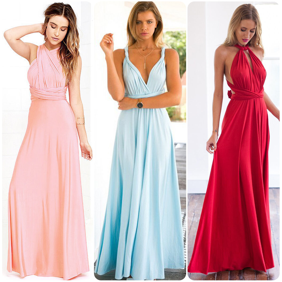 Multi Wear Bridesmaid Dress