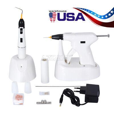 Dental Percha Gutta Endodontic Obturation System Sy-fill Gun Heated Pen 3pc Tips
