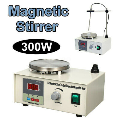 Laboratory Lab Magnetic Stirrer Heating Plate Hotplate Mixer Equipment 300w C3