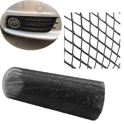 "Universal Cuttable 40""x13"" Black Aluminium Racing Grille Mesh Net Rhombus Style for sale  China"