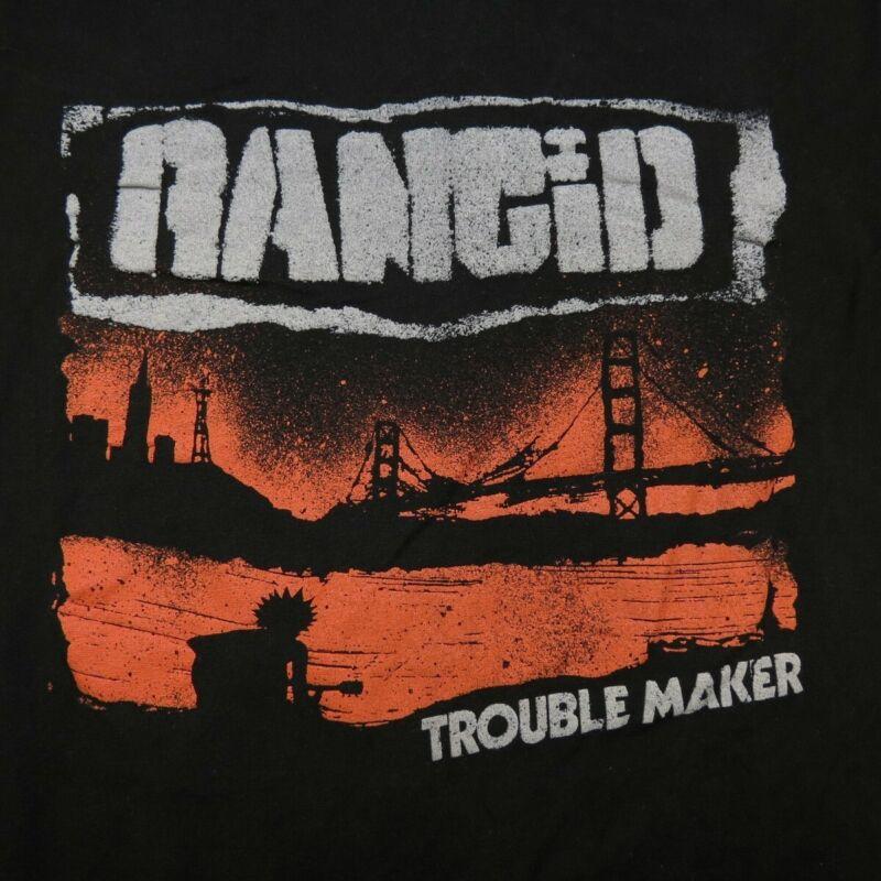 RANCID TROUBLE MAKER CONCERT TOUR TEE T SHIRT Sz Mens M punk rock