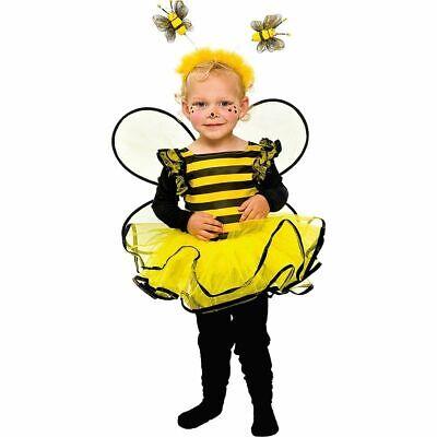 Mot - Baby und Kleinkinder Kostüm Biene zu Karneval  - Kleinkind Und Kind Kostüm