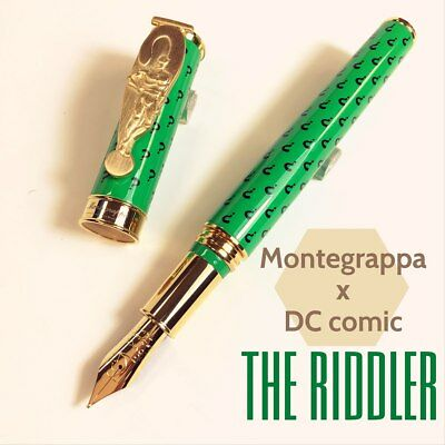 Montegrappa Spec Edition DC Comics Heroes & Villains The Riddler Fountain Pen