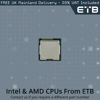 Usado, Intel Xeon E3-1240v2 3.4GHz Quad-Core CPU SR0P5 segunda mano  Embacar hacia Spain