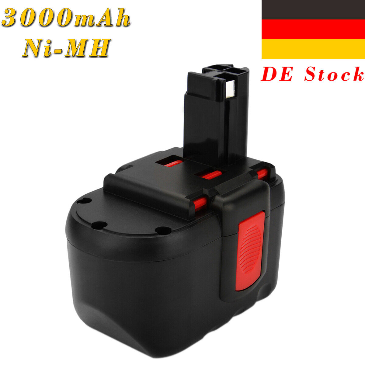 Batterie pour Bosch bat-030 bat-031 bat-240 bat-299 3000mah