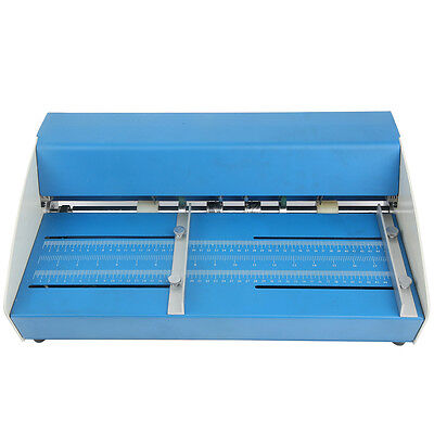 18 Automatic Electric Creaser Scorer Perforator Cutter 460mm Paper Creasing